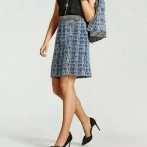 Cabi 21 Club Skirt #5320 Size 6 ~ Blue Matrix NWT